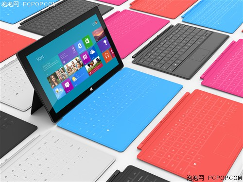 微软专业版Surface Pro 10.6英寸平板电脑(128G/Wifi版/黑色)平板电脑