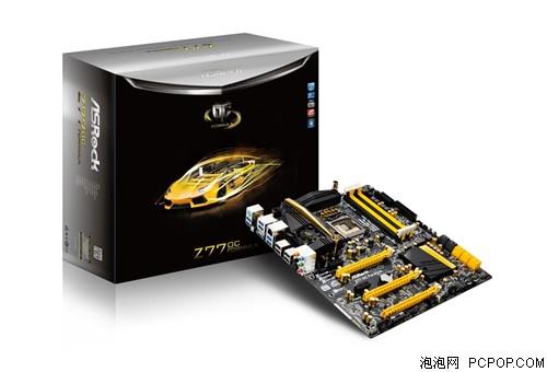 顶级超频板降临华擎Z77超频方程式亮相