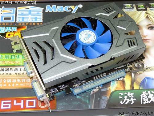 铭鑫视界风 GT640U-2GBD3 G频版显卡