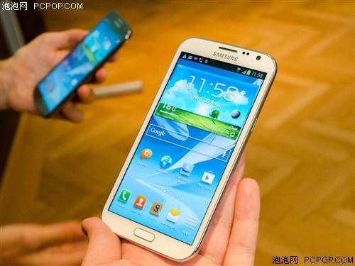 三星Note2 N7100 16G联通3G手机(钛金灰)WCDMA/GSM欧版手机