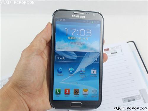 三星Note2 N7100 16G版3G手机(钛金灰)WCDMA/GSM国行手机