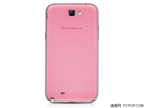 三星N7102 粉色手机