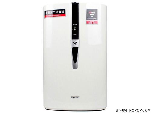 夏普KC-W380SW-W 无雾加湿空气净化器 五重过滤 空气质量指示灯(白色)空气净化器