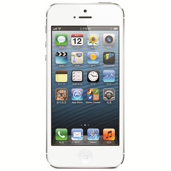 苹果iPhone5 16G电信3G手机(白色)CDMA2000/CDMA非合约机手机