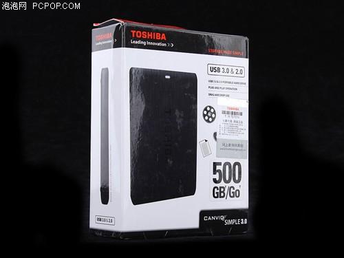 东芝恺乐SIMPLE星礴(500G)移动硬盘