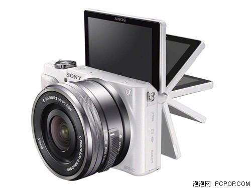 索尼NEX-3N套机(E PZ 16-50mm) 白色数码相机