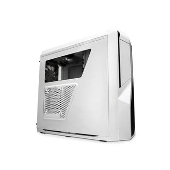 NZXTPhantom410 小幻影 中塔游戏机箱 白色(原生USB3.0/背部走线/自带三个静音风扇/全兼容SSD)机箱