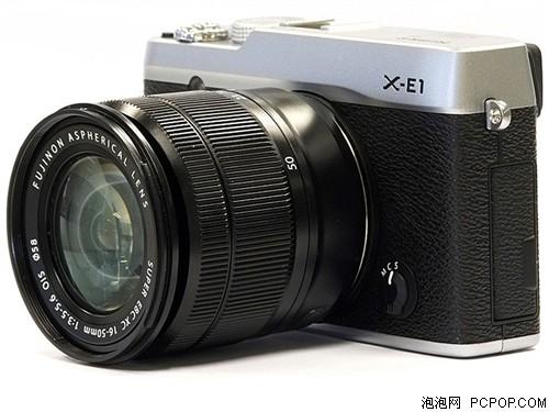 富士X-E1 旁轴单电套机 银色机身/黑色镜头(XC 16-50mm f/3.5-5.6 OIS 镜头)单电/微单相机