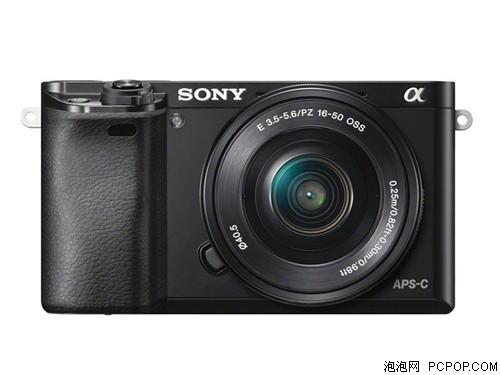 索尼A6000 单电套机 黑色(E PZ 16-50 f/3.5-5.6 OSS)单电/微单相机