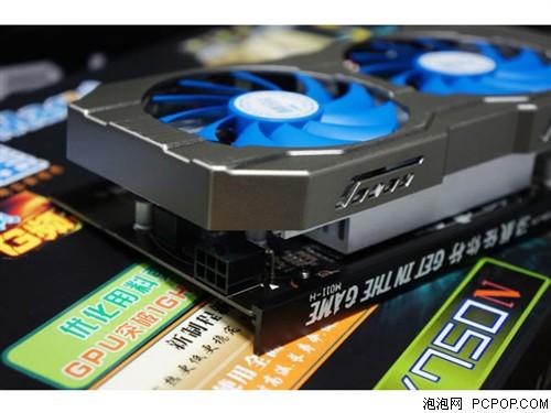 铭鑫视界风GTX750N -1GBD5 G频版显卡