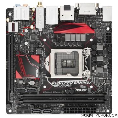 华硕B150I PRO GAMING/WIFI/AURA 主板 (Intel B150/LGA 1151)主板