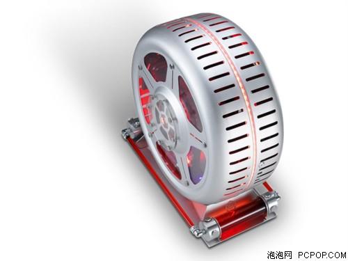 圆形箱体 GAMEMAX风火轮促销2080元