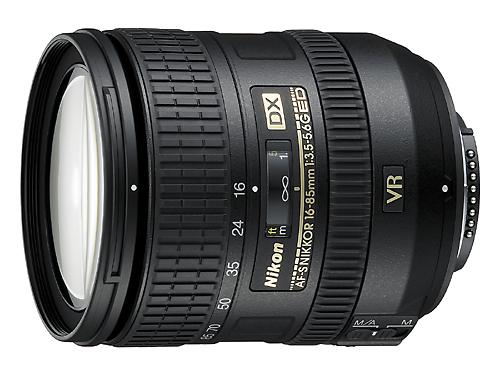 AF-S DX 16-85mm F3.5-5.6G ED VR镜头
