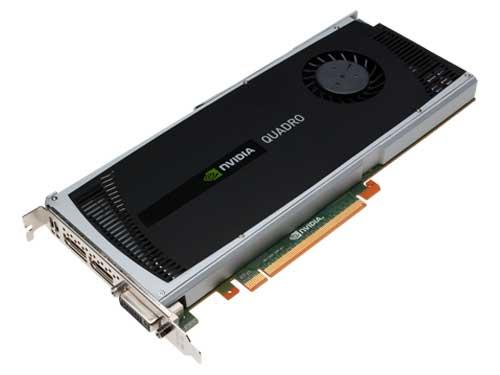 NVIDIA Quadro 400045度正面图片