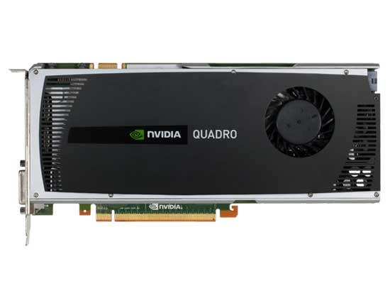 NVIDIA Quadro 4000正面图片