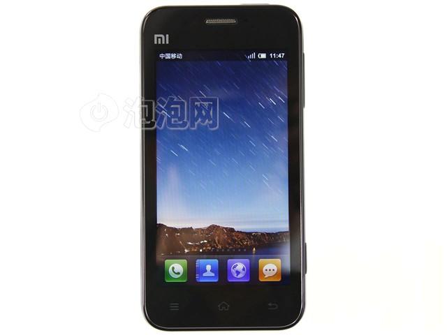 小米M1 3G手机正面图片