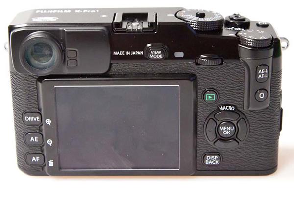 富士X-Pro1背面图片