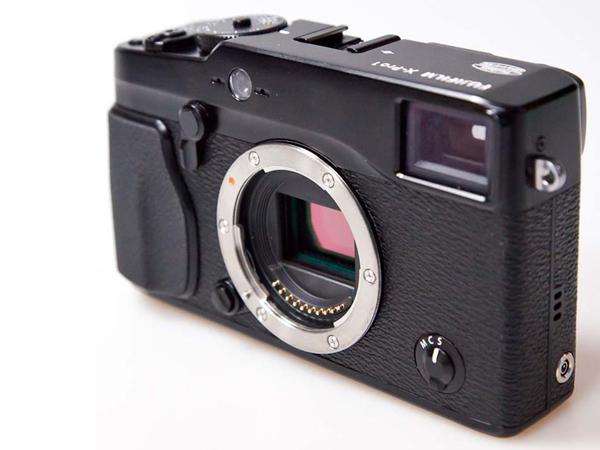 富士X-Pro1镜头卡口图片