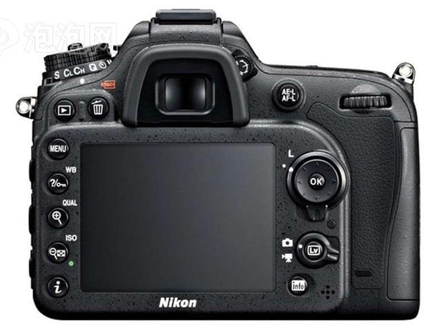 尼康D7100 单反机身外观图片7