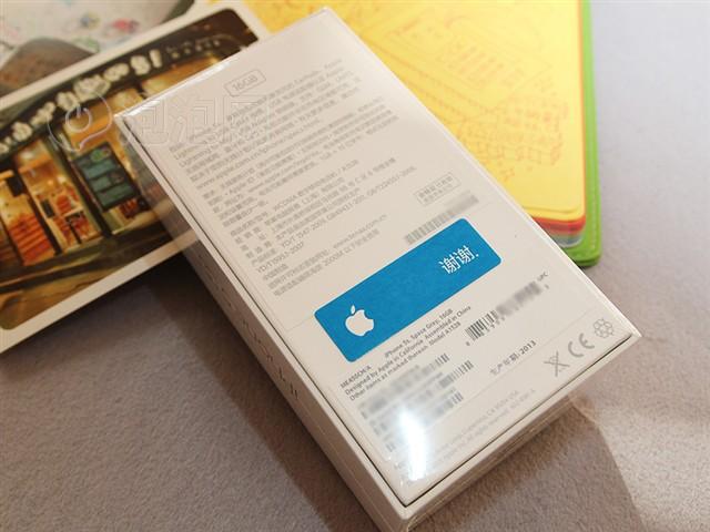 苹果iphone5s a1530包装背面图片下载 图片大全 第2张