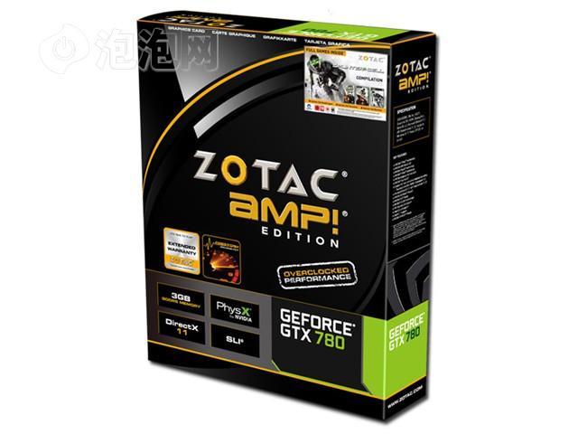 索泰GTX780-3GD5 AMP 1006-1059MHz/6208MHz 3GB/384bit GDDR5图片7