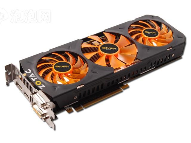索泰GTX780-3GD5 AMP 1006-1059MHz/6208MHz 3GB/384bit GDDR5图片3