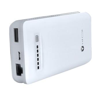 雅狐WIFI-7800 3G WIFI移动电源无线存储路由器 7800mAh 适用于各种手机/平板/PAD及带WIFI的电脑图片2