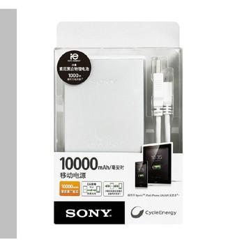 索尼Sony移动电源10000毫安CP-F10L超薄聚合物手机充电宝通用图片4