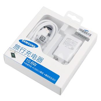 三星Note3 旅行充电器 白色图片4