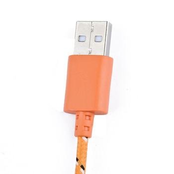 品怡适用iphone4/4s ipad3/2/1  跳绳多色充电线 手机充电线 数据线 橙色图片3