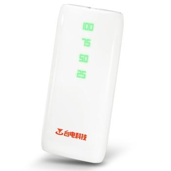 台电摇一摇 移动电源充电宝 T100Y-W 10000毫安 超薄通用图片1