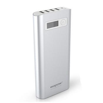 品胜沃品 PD系列 金属外壳 移动电源/充电宝 PD608 20000毫安 4个USB接口同时输出 官方标配+A88+1拖3线图片5