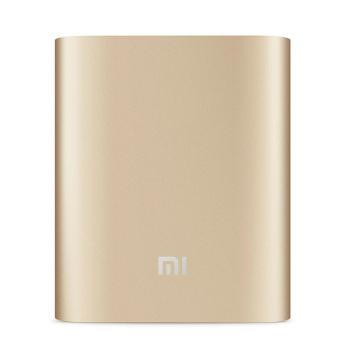 小米充电宝10400毫安手机通用移动电源原装正品 金色图片1