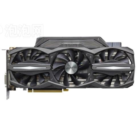 索泰GTX980Ti-6GD5至尊OC 1253-1355/7200MHz 6G GDDR5 PCI-E 3.0显卡图片1