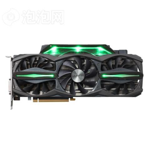 索泰GTX980Ti-6GD5至尊OC 1253-1355/7200MHz 6G GDDR5 PCI-E 3.0显卡图片2