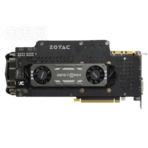 索泰GTX980Ti-6GD5至尊OC 1253-1355/7200MHz 6G GDDR5 PCI-E 3.0显卡图片5