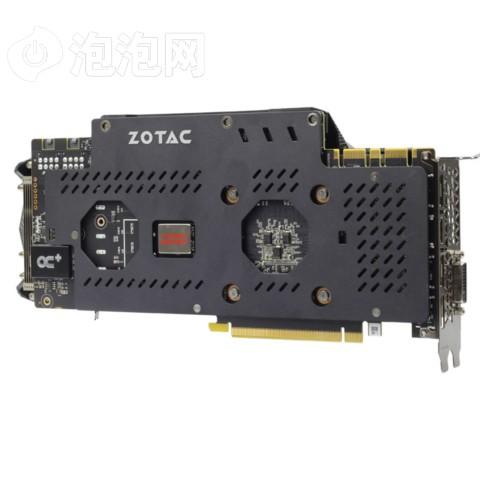 索泰GTX980Ti-6GD5至尊OC 1253-1355/7200MHz 6G GDDR5 PCI-E 3.0显卡图片6