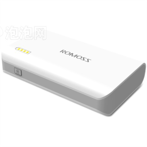 罗马仕sense3S卡片大小进 口LG电芯高配10000毫安双USB手电筒移动电源充电宝图片2