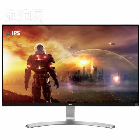 LG27UD68-W 27英寸4K IPS硬屏 护眼不闪滤蓝光LED背光液晶显示器图片1