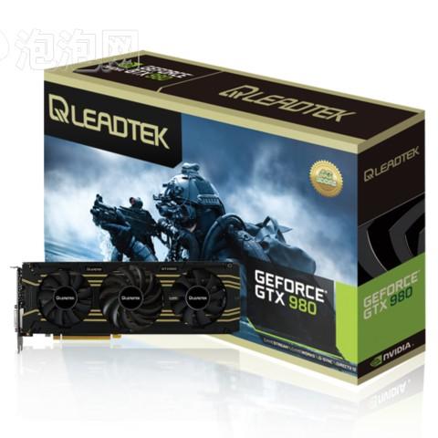 丽台GTX980 4GDDR5飓风版 1253MHz/DDR5/4GB/256Bit/7010Mhz/PCI-E3.0显卡图片1