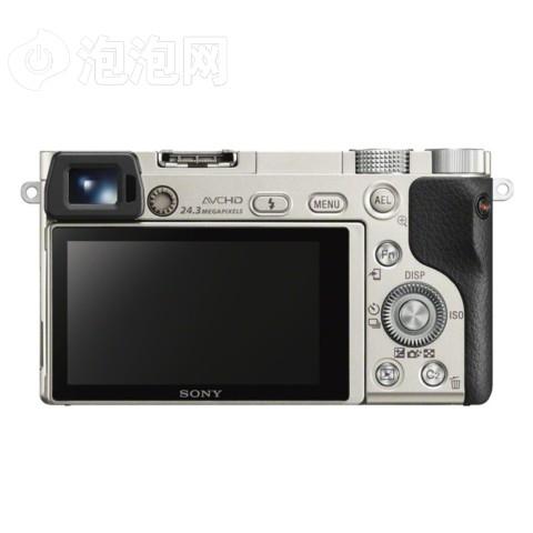 索尼a6000/ILCE-6000单机身 银色外观图片2