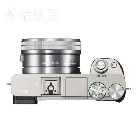 索尼a6000/ILCE-6000单机身 银色外观图片3