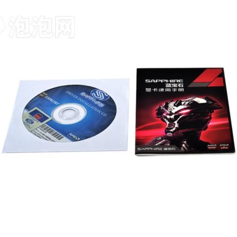 蓝宝石RX470 4G D5 白金版OC 1206MHz/7000MHz 4GB/256bit GDDR5 DX12 VR独立游戏显卡图片5