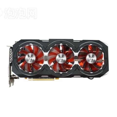 影驰GTX 1060 GAMER 1556(1771)MHz/8GHz 6G/192Bit D5 PCI-E显卡图片1