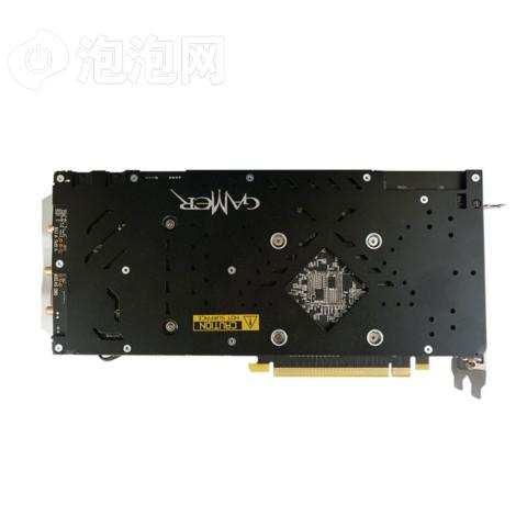 影驰GTX 1060 GAMER 1556(1771)MHz/8GHz 6G/192Bit D5 PCI-E显卡图片2