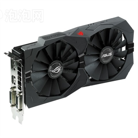华硕ROG STRIX-RX470-O4G-GAMING 4G/6600MHz 256bit GDDR5 PCI-E3.0显卡图片2