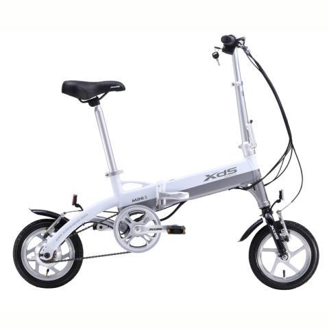 喜德盛折叠迷你电动车 mini denpo 超轻 电动自行车 锂电池 电动车 36图片
