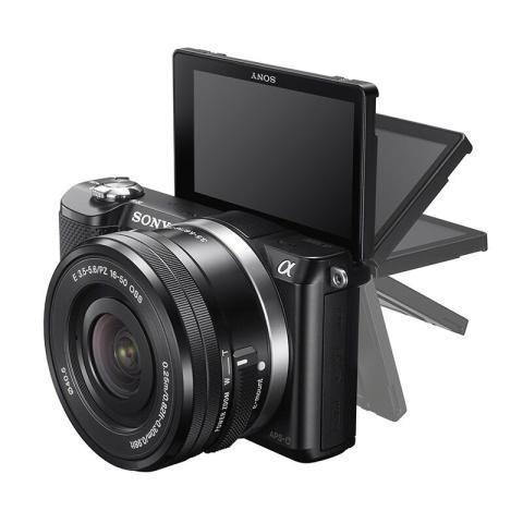 索尼ILCE-5000L/α5000 微单单镜套机外观图片4