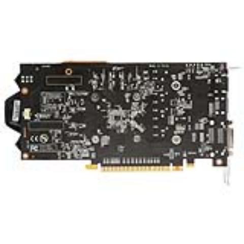 影驰GTX 1050Ti大将 1354(1468)MHz/7GHz 4G/128Bit D5 PCI-E显卡图片2