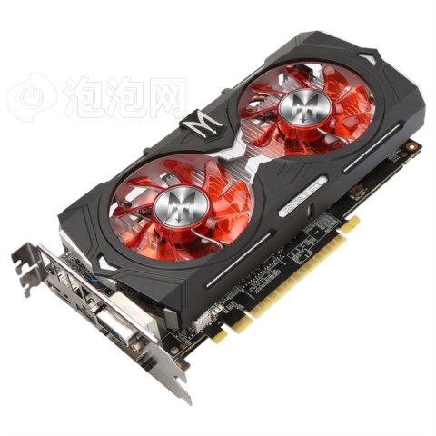 影驰GTX 1050Ti GAMER 1366(1480)MHz/7GHz 4G/128Bit D5 PCI-E显卡图片2